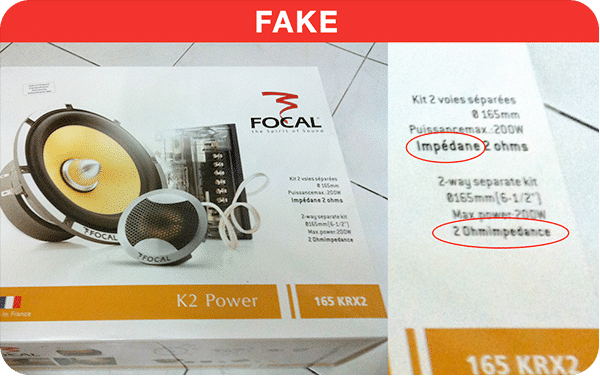 Spotting Fake Packaging
