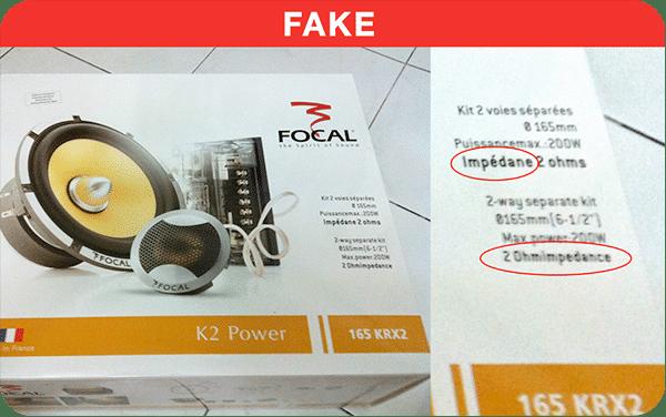 Spotting Fake Packaging